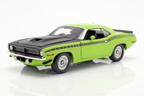 Plymouth Barracuda AAR 1970 1:18