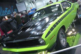 Plymouth Barracuda AAR 1970, copyright Foto: Bull-Doser