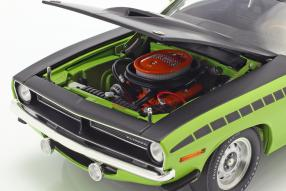 miniatures Plymouth Barracuda AAR 1970 1:18