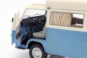 diecast miniatures Volkswagen T2a Campingbus 1:18