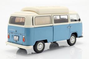 miniatures Volkswagen T2a Campingbus 1:18
