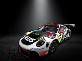 Porsche 911 GT3 R Kyalami 2019, Foto: Team75 Motorsport, Gruppe C Photography