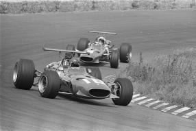 Ferrari 312F1/68 Dutch Grand Prix 1968 Icks and Amon, copyright Foto: Evers, Joost / Anefo