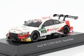 Modellautos Audi RS 5 DTM 2019 Rast 1:43