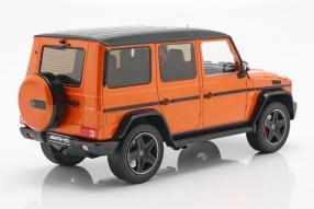 diecast miniatures Mercedes-Benz G-Klasse W 463 1:18 iScale crazy colours