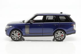 diecast miniatures Land Rover Range Rover SV Autobiography Dynamic 1:18