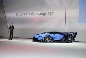 Bugatti Vision GT 2015, copyright Foto:  Volkswagen AG
