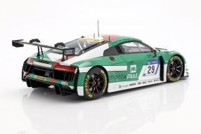diecast miniatures Audi R8 LMS Montaplast by Land Motorsport 2017 1:18