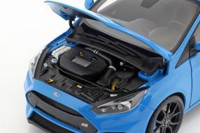 diecast miniatures Ford Focus 2016 1:18
