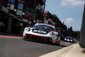 Porsche 911 GT3 R Spa Test 2019, Foto: Team75 Motorsport, Gruppe C Photography