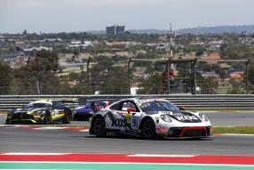 Porsche 911 GT3 R KÜS Team75 Bernhard Kyalami 2019, copyright Foto: Porsche AG