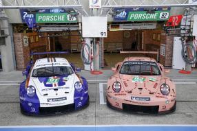Porsche 911 RSR GTE 2018 2. und 1. Platz GTE Pro Le Mans 2018, copyright Foto: Porsche AG