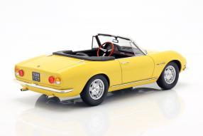 miniatures Fiat Dino Spyder 1966 1:18