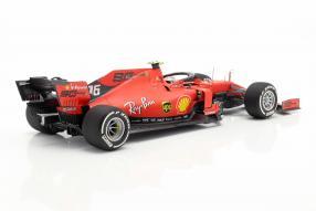 miniatures Ferrari SF90 2019 Leclerc BBR 1:18