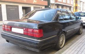 Audi V8 1990, copyright Foto: Spanish Coches