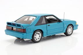 diecast miniatures Ford Mustang Cobra 1993 1:18