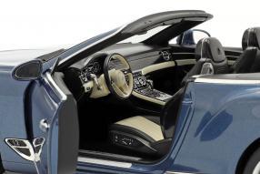 diecast miniatures Bentley Continental GTC 2019 1:18