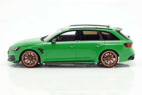 miniatures Abt Audi RS4+ Avant 2019 1:18