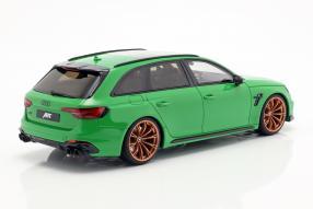modellautos Abt Audi RS4+ Avant 2019 1:18