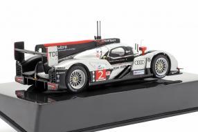 diecast miniatures Audi R18 winner 24h Le Mans 2011 1:43