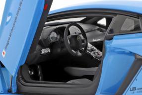 diecast miniatures Lamborghini Aventador 2015 LB works Liberty Walk 1:18