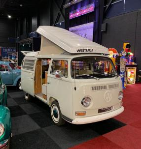 Volkswagen T2 Campingbus, Interclassics Maastricht 2020, copyright Foto: CK