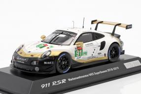 Porsche 911 RSR Markenweltmeister 2018/19 1:43