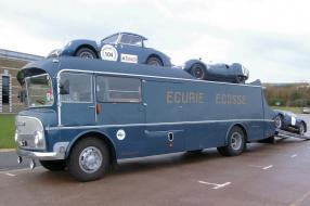 Renntransporter Ecurie Ecosse, copyright Foto: Andywebby