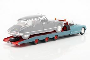 modelcars Citroën DS Tissier Autotransporter 1:18