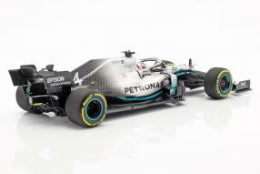 Lewis Hamilton Mercedes-AMG F1 W10 2019 1:18