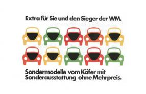 Werbung World Cup Edition 1974