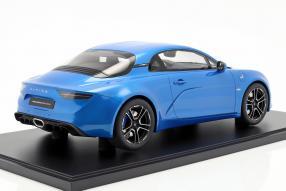 miniatures Renault Alpine A110 2018 1:8