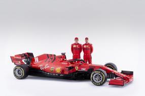 Ferrari SF1000 F1 2020 mit Mission Winnow Logo am Heck, copyright Foto: Ferrari S.p.A.