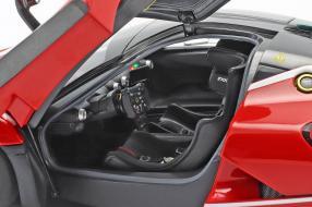 diecast miniatures Ferrari FXX K Evo 2017 1:18