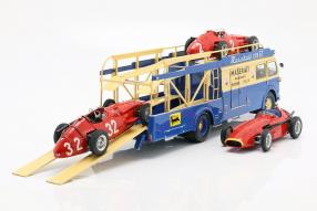 diecast miniatures Fiat Bartoletti Renntransporter 642RN2 Maserati 1:18
