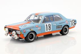 Opel Commodore A Steinmetz in Gulf-Farben 1971 1:18