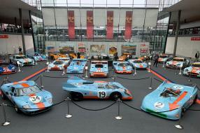 ROFGO-Ausstellung Gulf-Rennwagen Retro Classics 2020, copyright Fotos: CK