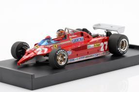 Ferrari 126CK 1981 1:43 Villeneuve