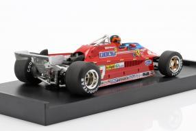 diecast miniatures Ferrari 126CK 1981 1:43 Villeneuve