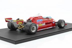 modelcars Ferrari 126CK 1981 1:12 Villeneuve