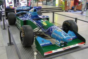 Benetton B194 Schumacher 1994, copyright Foto: Flominator