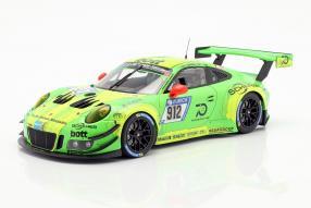 Manthey Racing Porsche 911 GT3 R 1:18 Minichamps