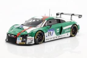 Audi R8 LMS winner 24h Nuerburgring Audi Sport Team Land 1:18 Autoart