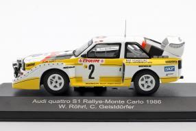 modelcars Audi quattro Sport E2 1986 1:43 CMR