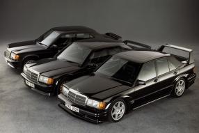 Mercedes-Benz 190 E 2.5-16 Modellfamilie, copyright Foto: Daimler AGEvo