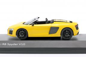 diecast miniatures Audi R8 Spyder V10 1:43 Herpa