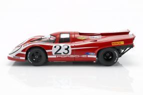diecast miniatures Porsche 917 Attwood Hermann 1970 1:18 CMR