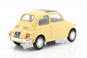 diecast miniatures Fiat 500 L 1971 1:18