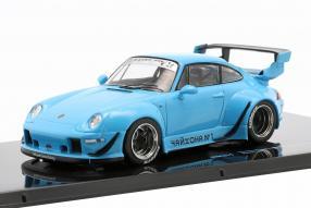 Porsche 911 993 Rauh-Welt rivierablau 1:43