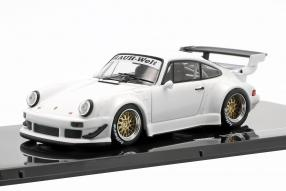 Porsche 911 930 Rauh-Welt weiß 1:43